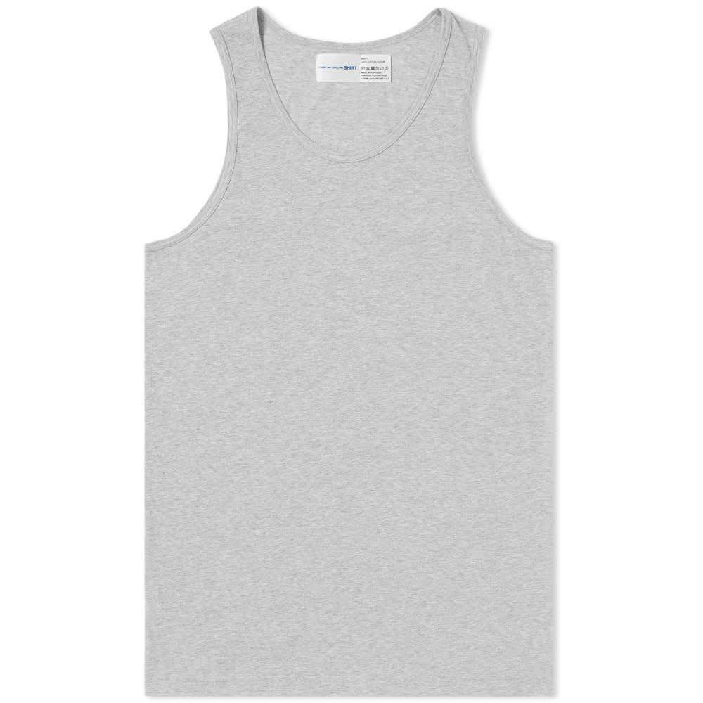 コム デ ギャルソン Comme des Garcons SHIRT メンズ タンクトップ トップス【x sunspel vest】Top Grey