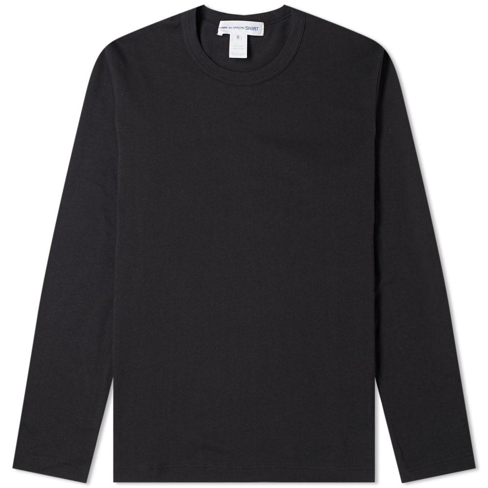 コム デ ギャルソン Comme des Garcons SHIRT メンズ 長袖Tシャツ トップス【long sleeve classic tee】Black
