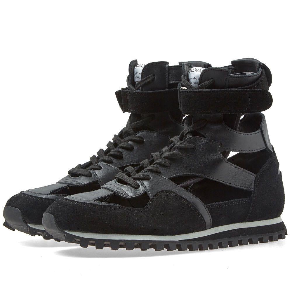 コム デ ギャルソン Comme des Garcons Play メンズ シューズ・靴 スニーカー【Comme des Garcons x Spalwart Marathon Hi】Black