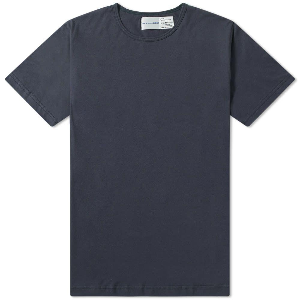 コム デ ギャルソン Comme des Garcons SHIRT メンズ Tシャツ トップス【x sunspel crew tee】Navy