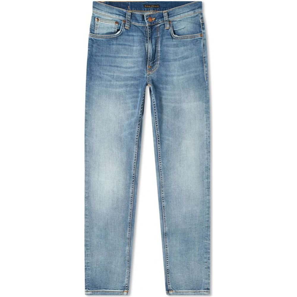 ヌーディージーンズ Nudie Jeans Co メンズ ジーンズ・デニム ボトムス・パンツ【Nudie Lean Dean Jean】Broken Sage