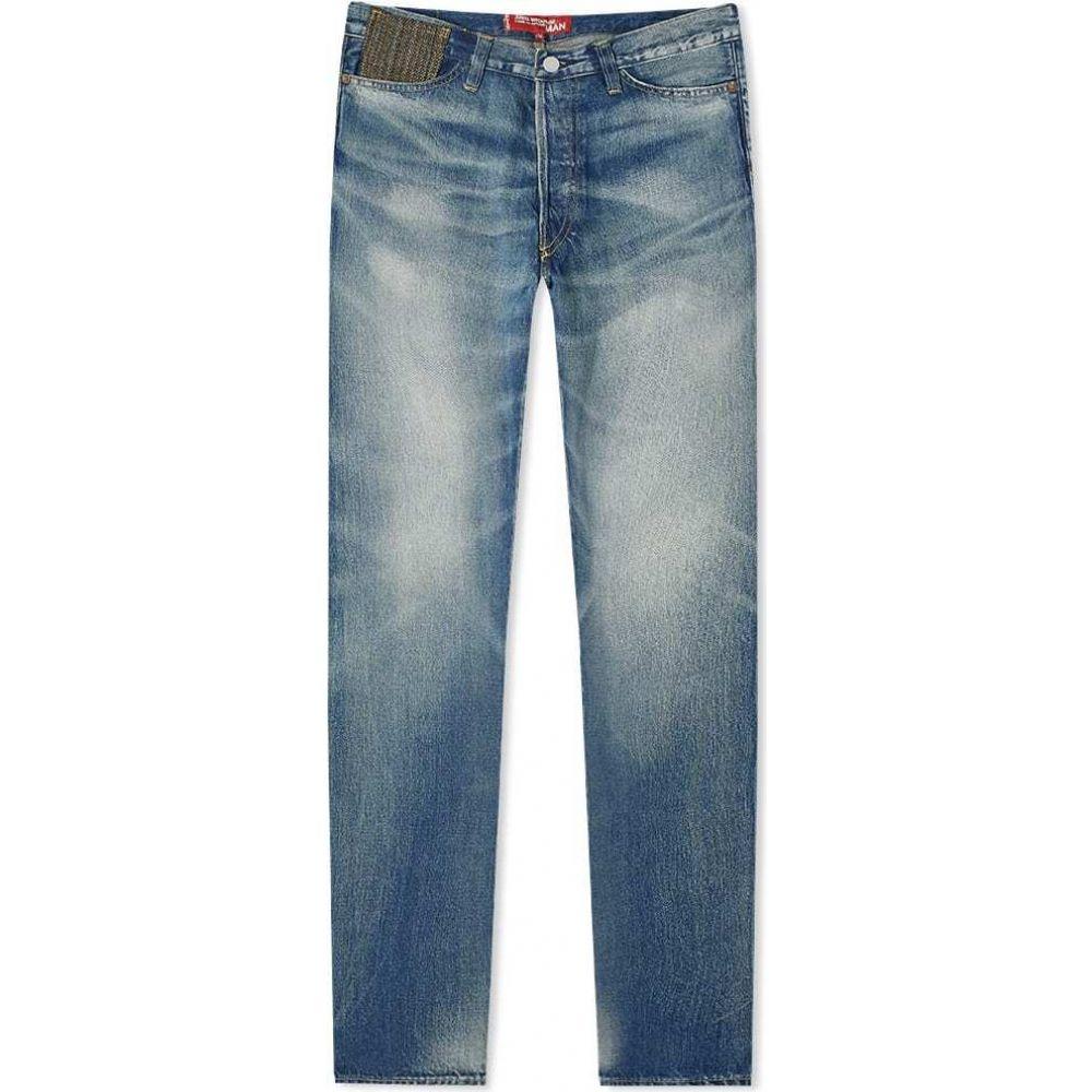 <title>ジュンヤ ワタナベ メンズ ボトムス パンツ ジーンズ デニム Indigo Khaki サイズ交換無料 Junya Watanabe MAN リーバイス x Levi's 501 信頼 1947 Wool Patch Washed Jean</title>