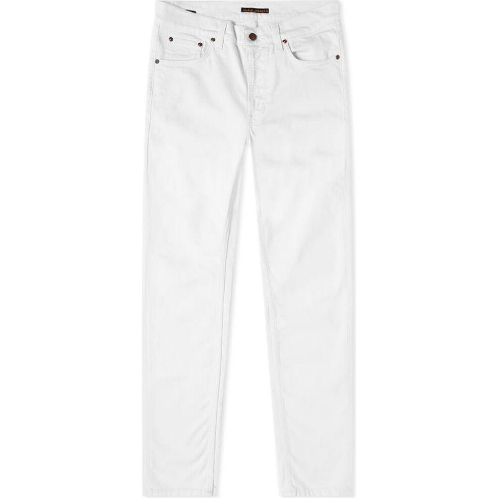 ヌーディージーンズ Nudie Jeans Co メンズ ジーンズ・デニム ボトムス・パンツ【Nudie Lean Dean Jean】Off White