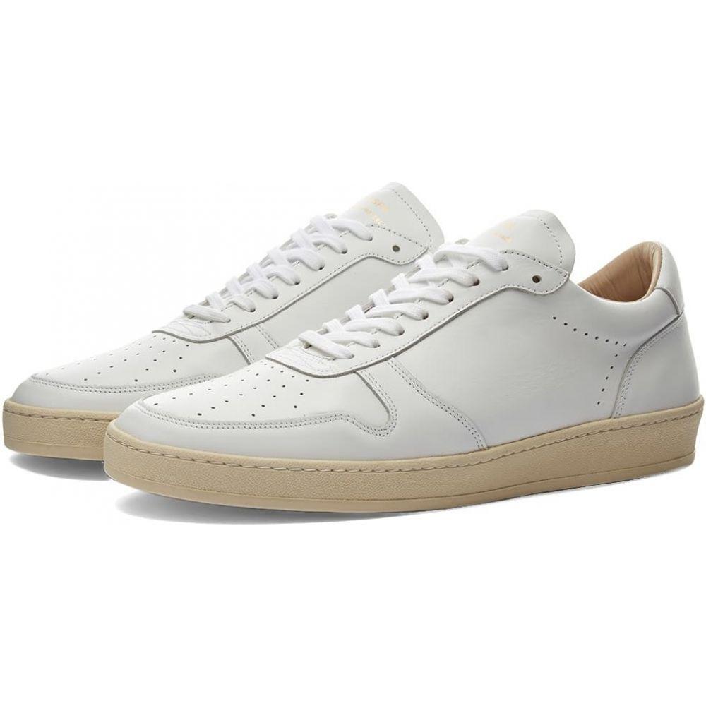 全日本送料無料 ゼスパ Zespa メンズ スニーカー シューズ・靴【ZSP23 APLA Nappa Sneaker】White, シンジョウソン be4901b0