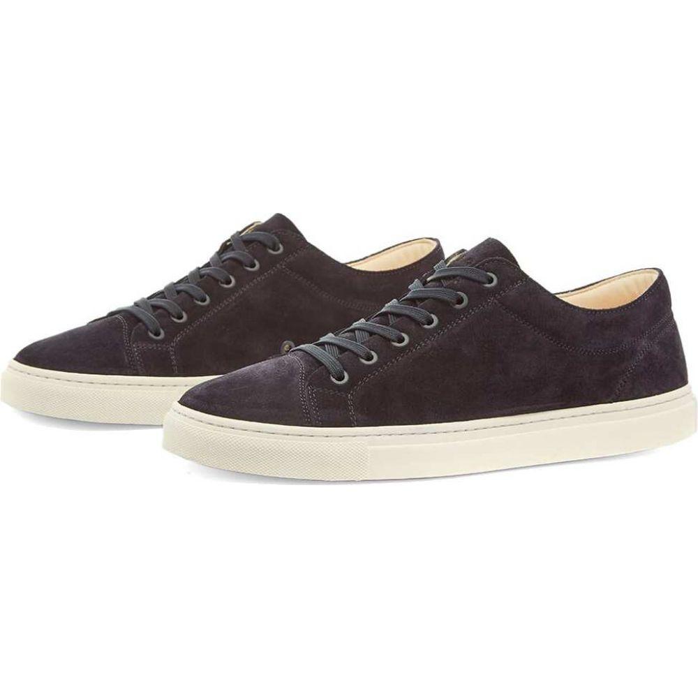 早い者勝ち ETQ ETQ. Amsterdam メンズ スニーカー ローカット シューズ・靴【ETQ. Premium Suede Low Top 1 Sneaker】Navy, WARP WEB SHOP 0d7e8941