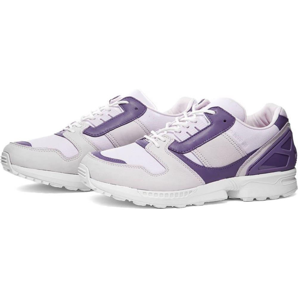 アディダス Adidas メンズ スニーカー シューズ・靴【x deadHYPE A-ZX ZX 8000 BW】Purple Tint/Pink/Purple