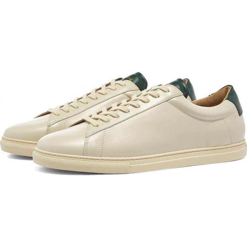 大洲市 ゼスパ Zespa メンズ スニーカー シューズ・靴【ZSP4 APLA Nappa Sneaker】Sapin, アクリBOX 35582181
