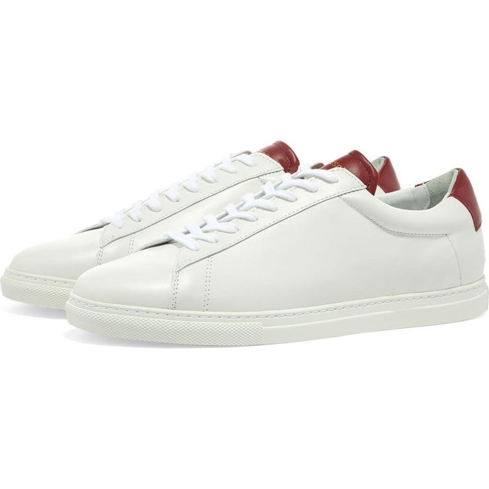 【WEB限定】 ゼスパ Zespa メンズ スニーカー シューズ・靴【ZSP4 APLA Nappa Sneaker】Cerise, Lives 1bce6e33
