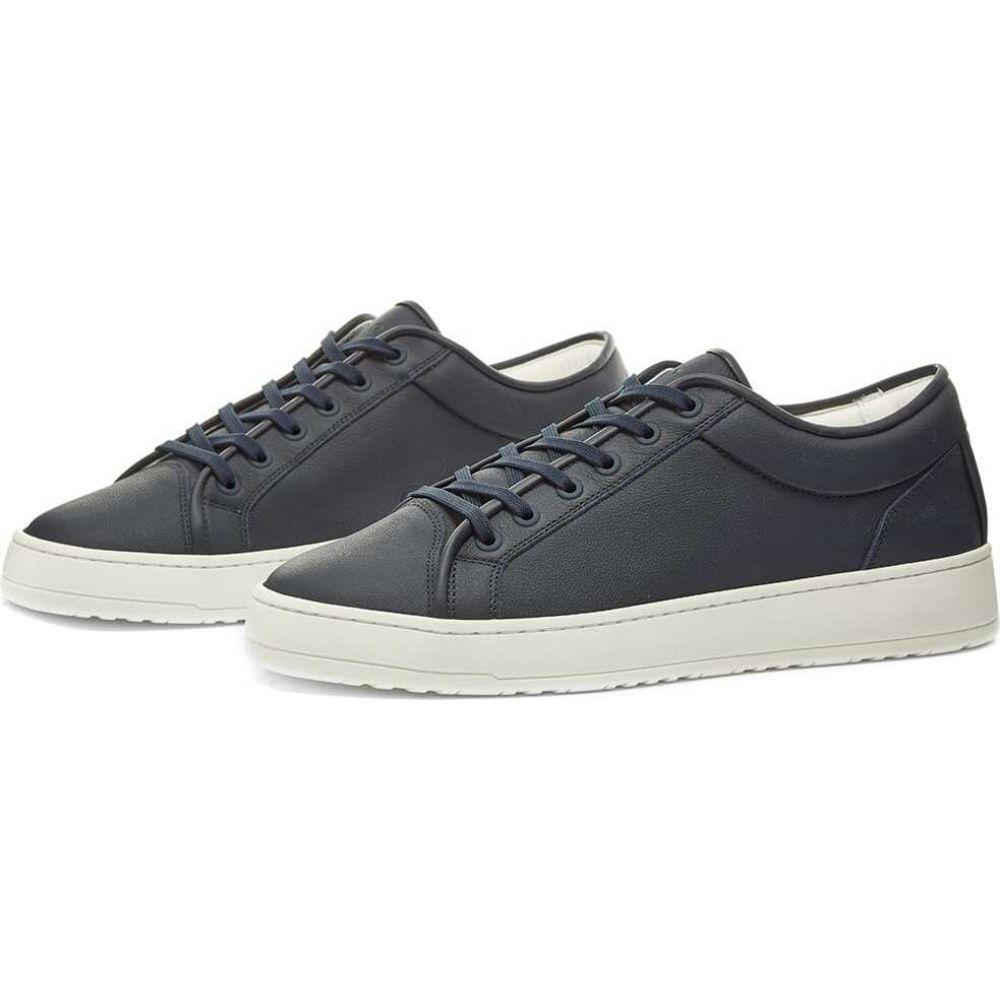 Top Amsterdam 1 Sneaker】Navy ローカット Low シューズ・靴【ETQ. スニーカー メンズ Blue ETQ ETQ.