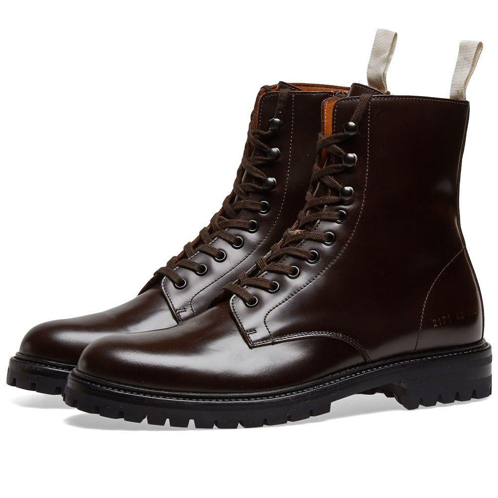 コモン プロジェクト Common Projects メンズ シューズ・靴 ブーツ【Winter Combat Boot】Brown