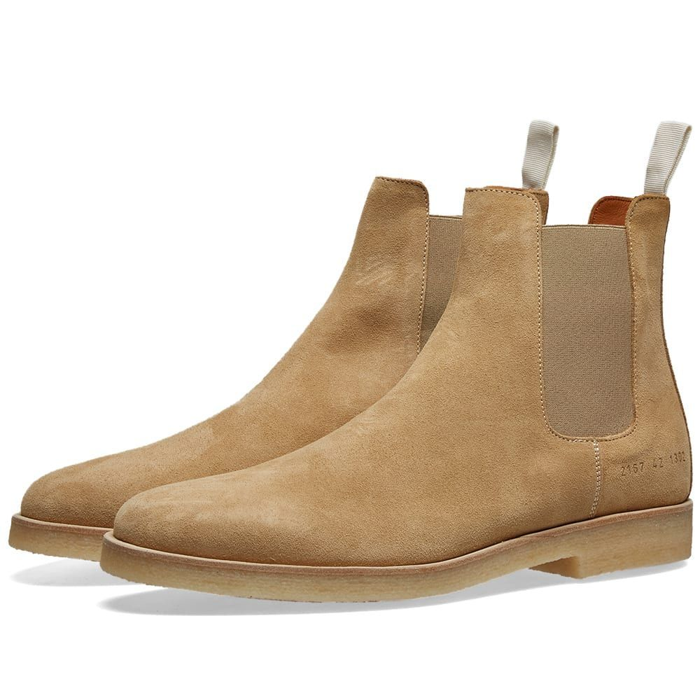 コモン プロジェクト Common Projects メンズ シューズ・靴 ブーツ【Chelsea Boot Suede】Tan