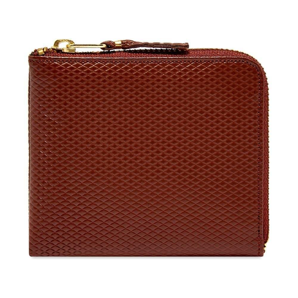 コムデギャルソン Comme des Garcons Wallet メンズ 財布 【comme des garcons sa3100lg luxury wallet】Brown