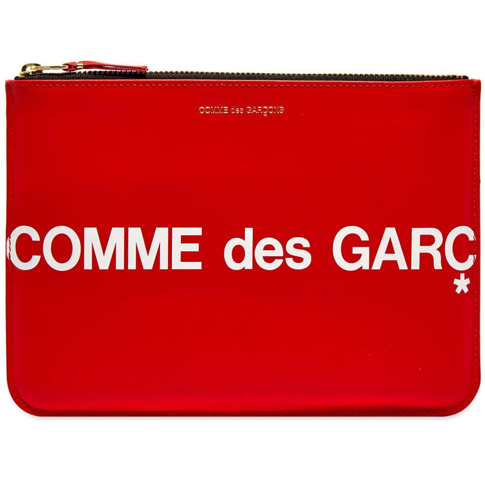 コムデギャルソン Comme des Garcons Wallet メンズ 財布 【comme des garcons sa5100hl huge logo wallet】Red
