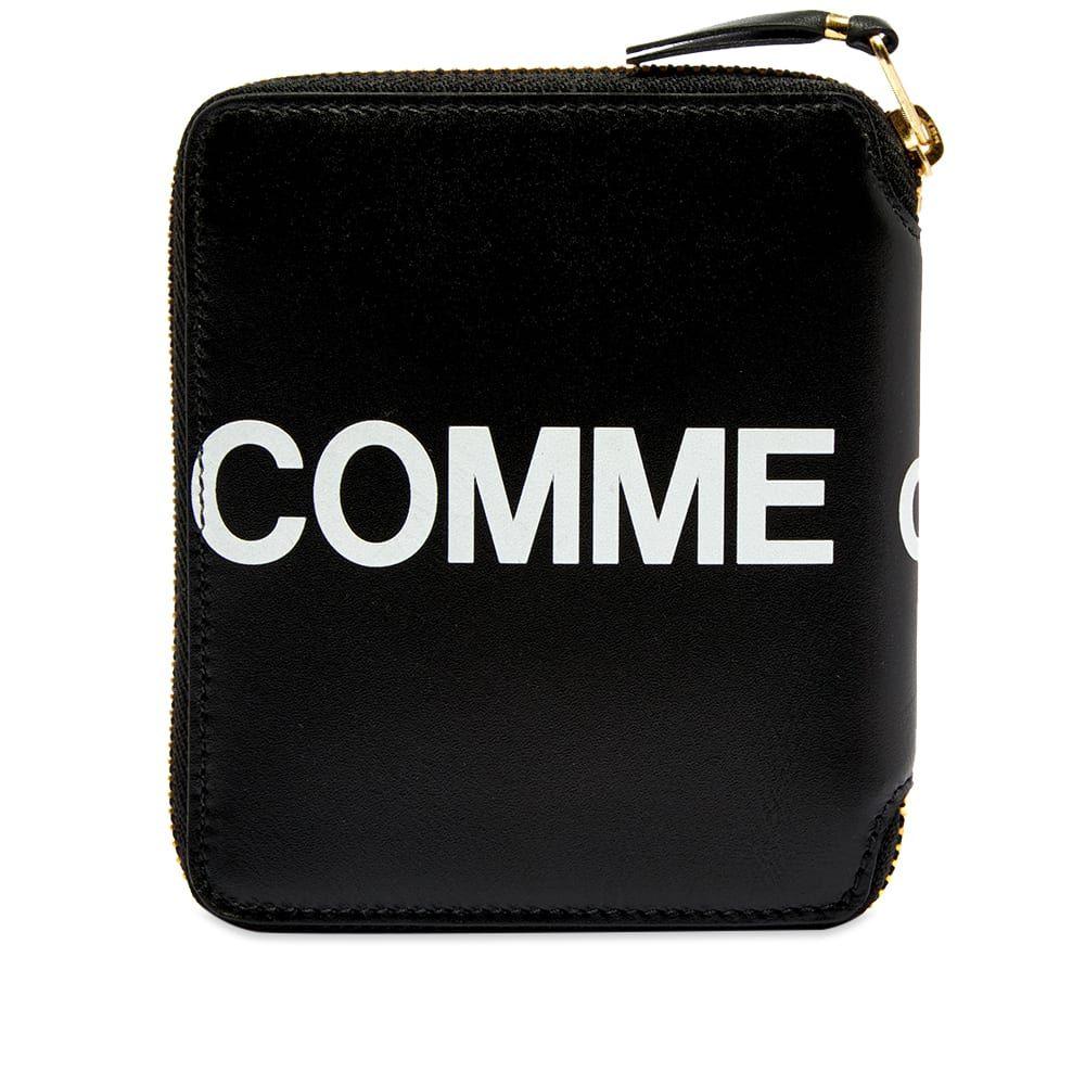 コムデギャルソン Comme des Garcons Wallet メンズ 財布 【comme des garcons sa2100hl huge logo wallet】Black