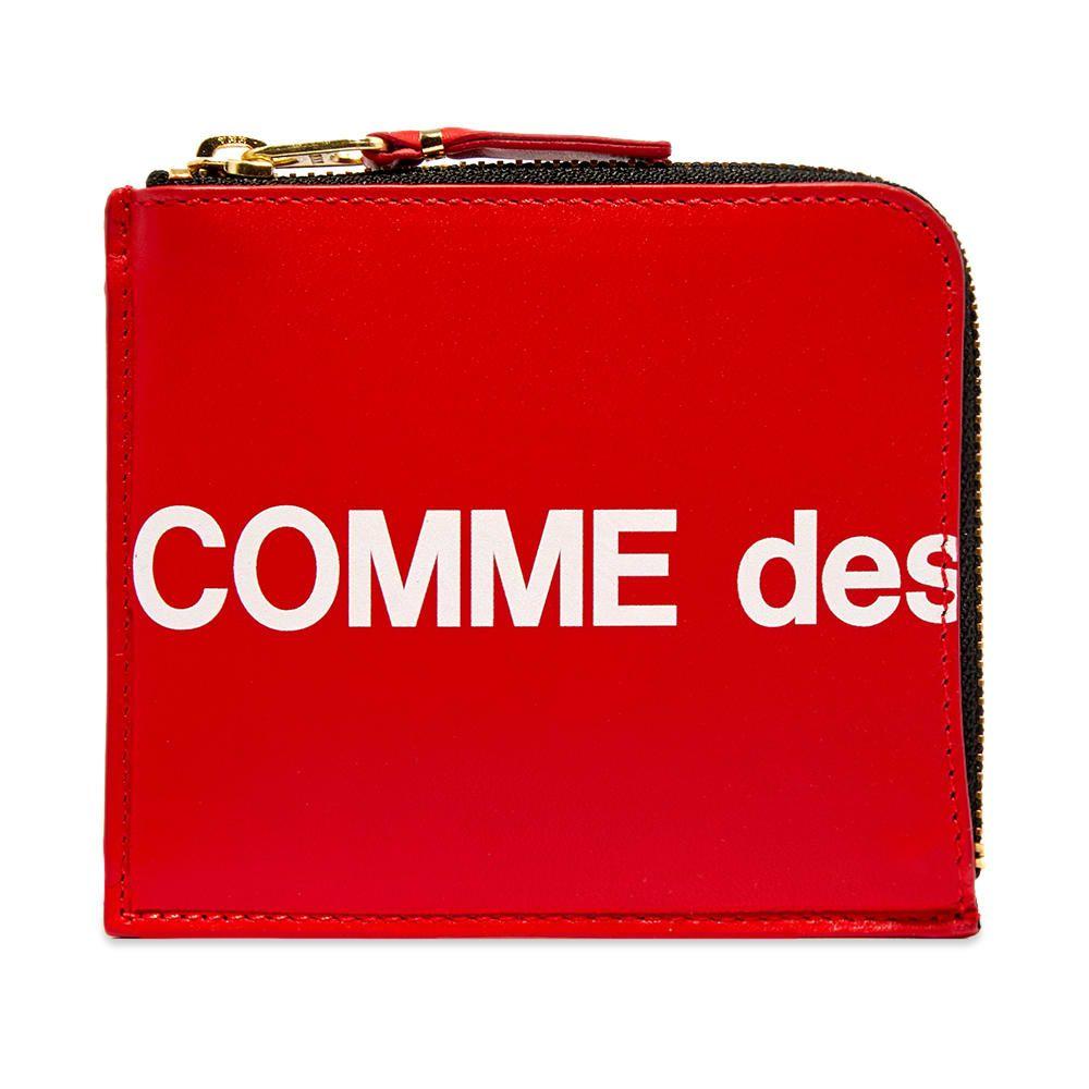 コムデギャルソン Comme des Garcons Wallet メンズ 財布 【comme des garcons sa3100hl huge logo wallet】Red