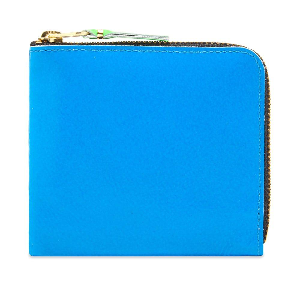 コムデギャルソン Comme des Garcons Wallet メンズ 財布 【comme des garcons sa3100sf super fluro wallet】Orange/Blue