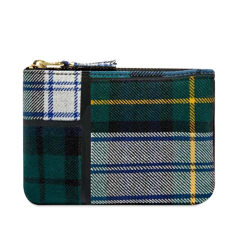 コムデギャルソン Comme des Garcons Wallet メンズ 財布 【comme des garcons sa8100tp tartan patchwork wallet】Green