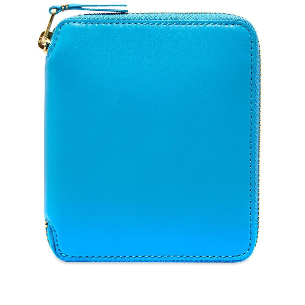 コムデギャルソン Comme des Garcons Wallet メンズ 財布 【comme des garcons sa2100 classic wallet】Blue