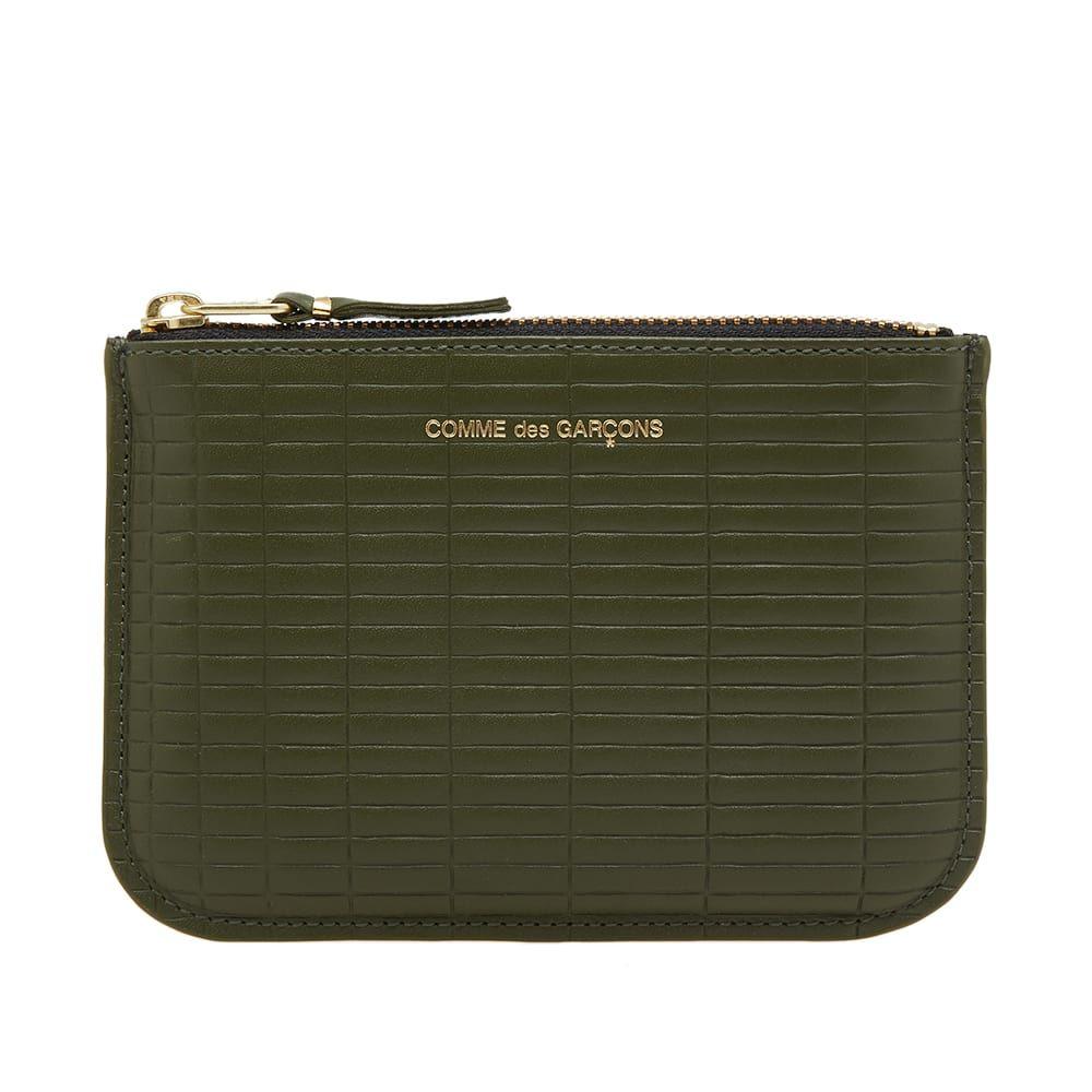 コムデギャルソン Comme des Garcons Wallet メンズ 財布 【comme des garcons sa8100bk brick wallet】Khaki