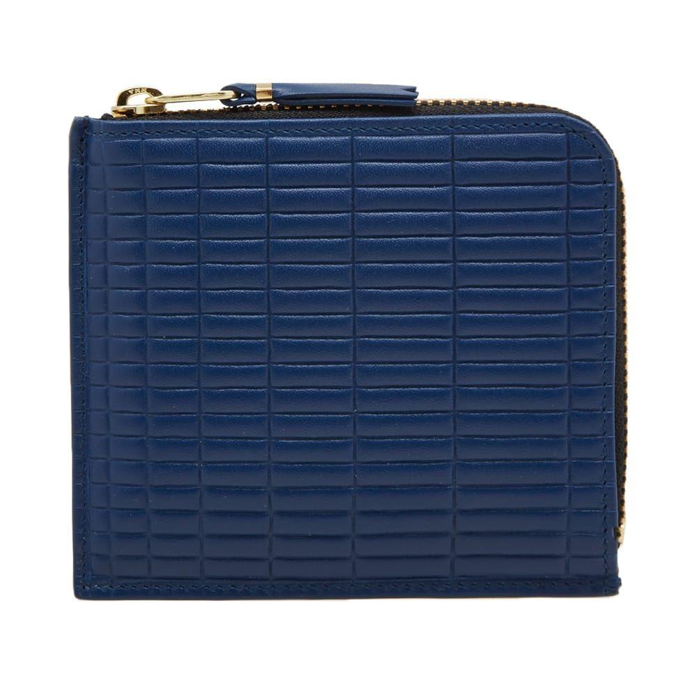 コムデギャルソン Comme des Garcons Wallet メンズ 財布 【comme des garcons sa3100bk brick wallet】Blue