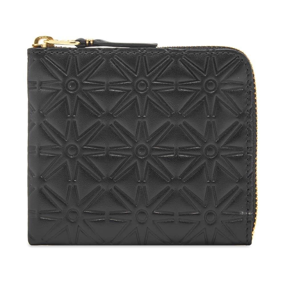 コムデギャルソン Comme des Garcons Wallet メンズ 財布 【comme des garcons sa310ea embossed wallet】Black