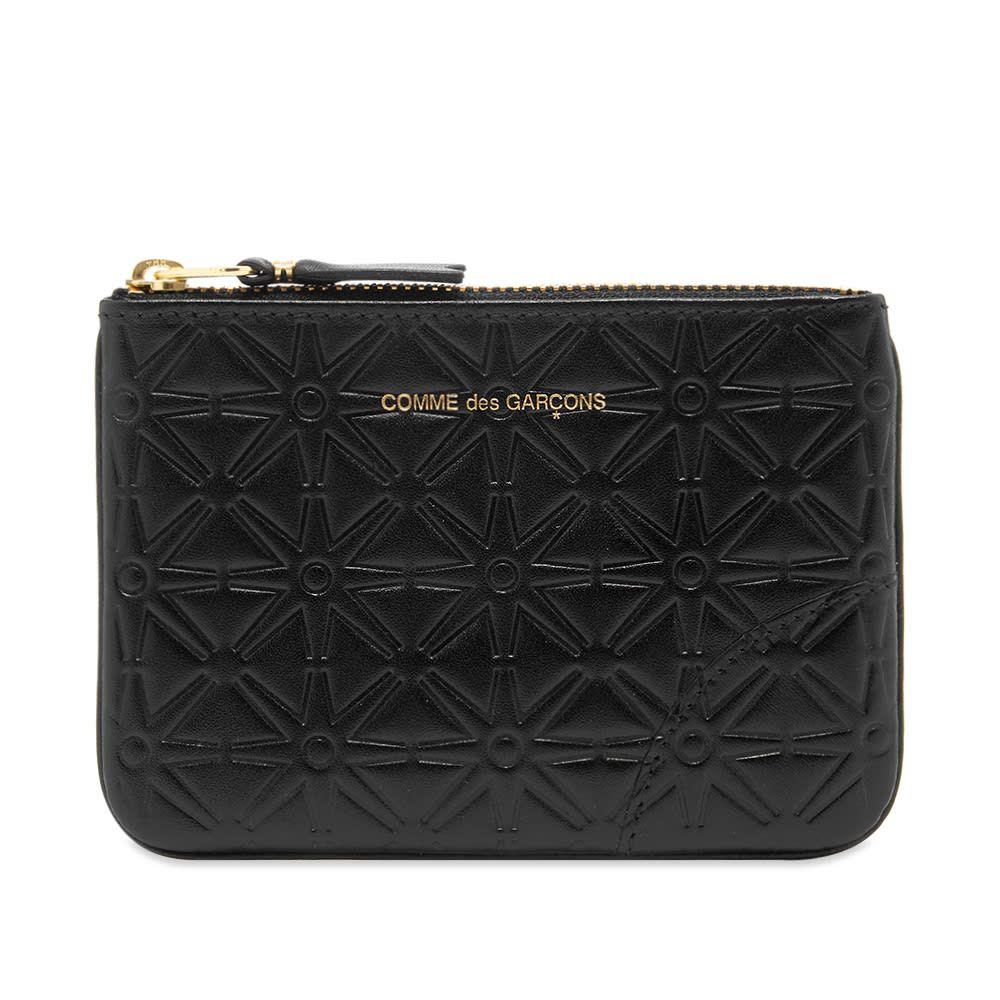 コムデギャルソン Comme des Garcons Wallet メンズ 財布 【comme des garcons sa810ea embossed wallet】Black