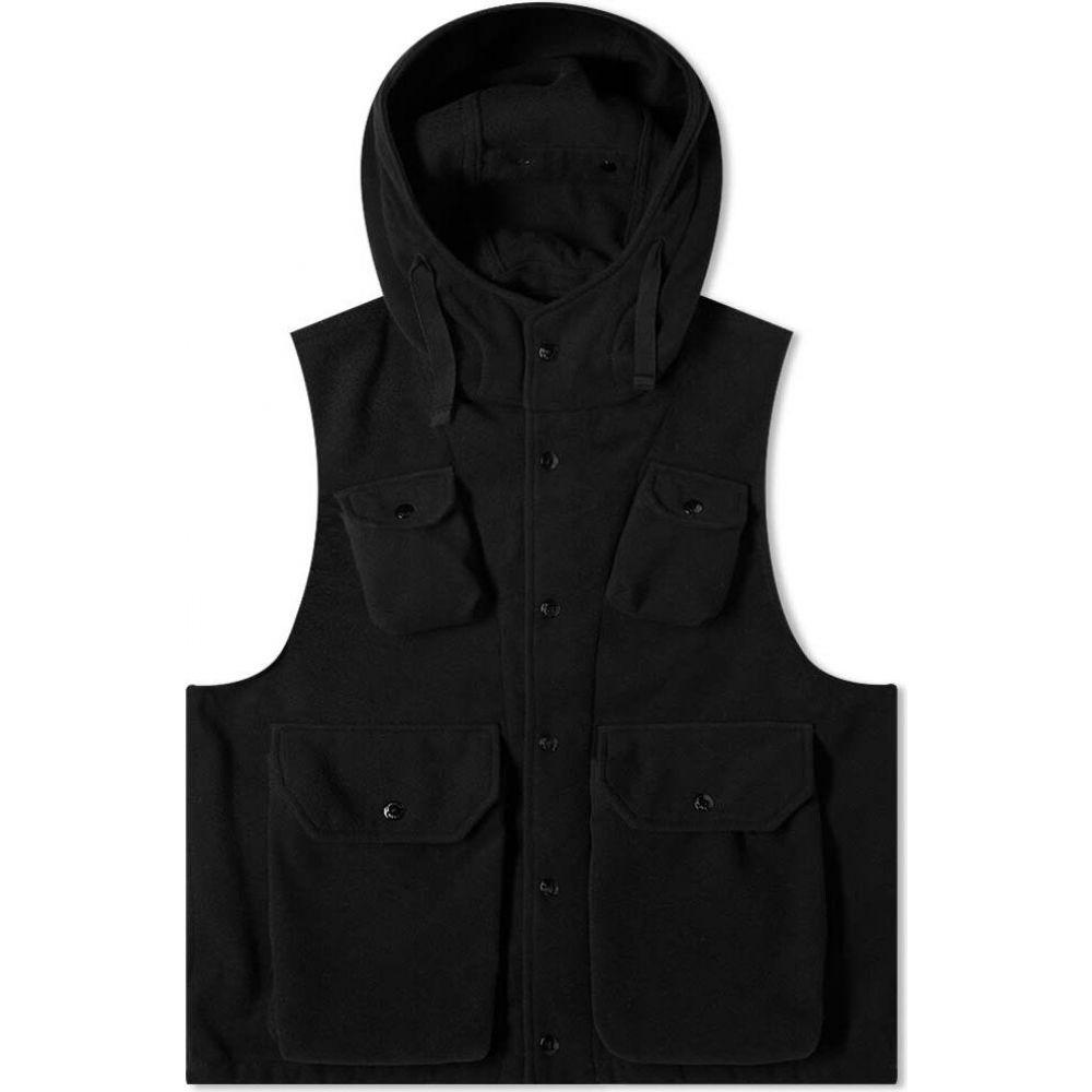 エンジニアードガーメンツ Engineered Garments メンズ ベスト・ジレ トップス【field vest】Black