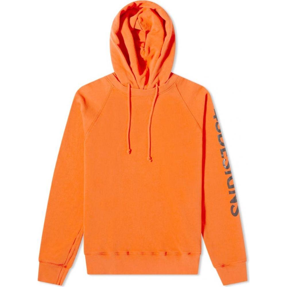 贅沢品 4SDESIGNS パーカー メンズ パーカー 4SDESIGNS トップス hoody】Orange【printed fleece hoody】Orange, クイーンアイズ:7a650f74 --- experiencesar.com.ar