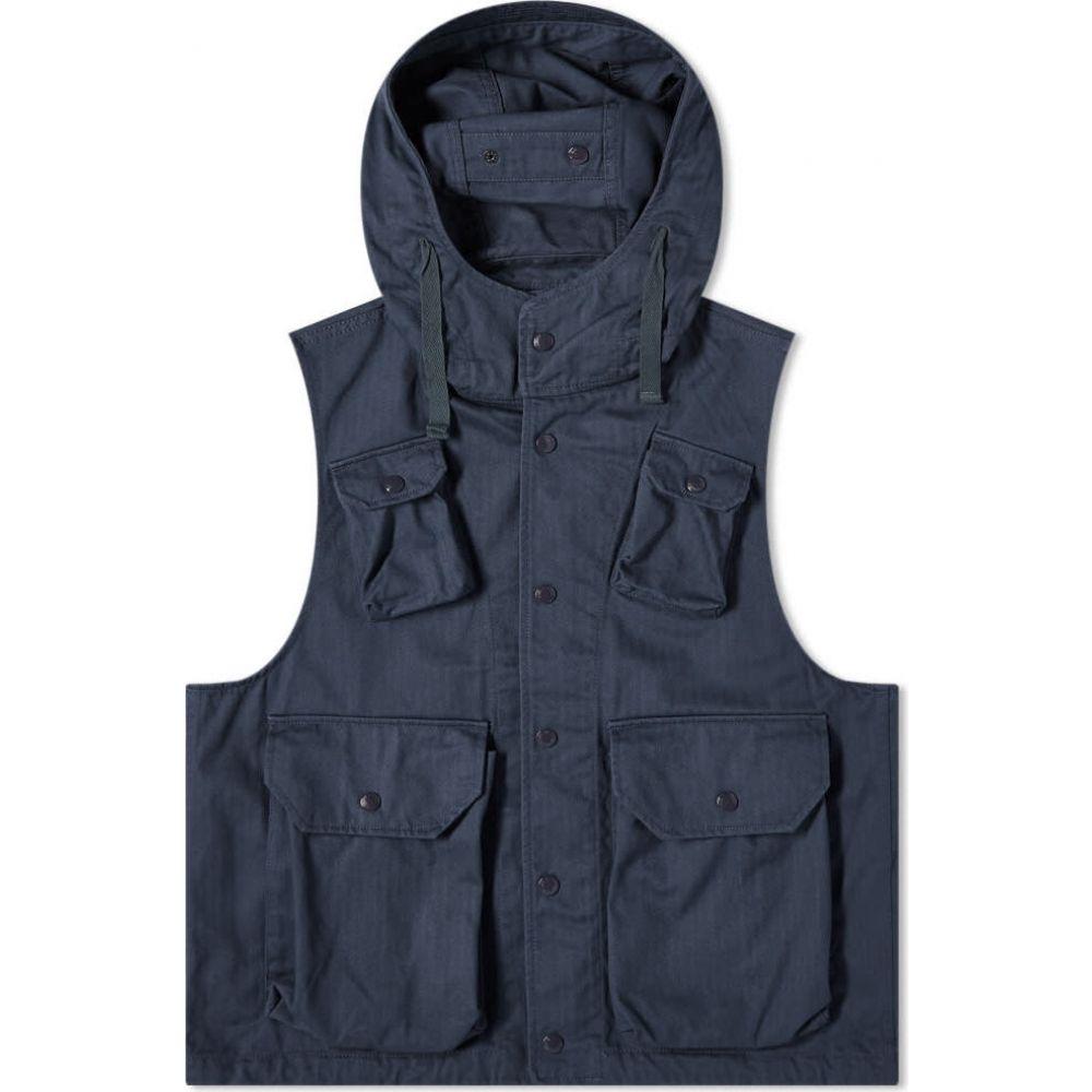 エンジニアードガーメンツ Engineered Garments メンズ ベスト・ジレ トップス【field vest】Dark Navy