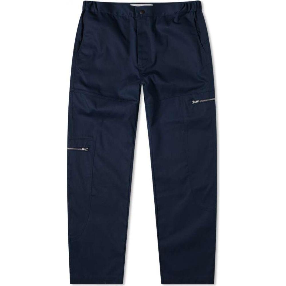 パリアファルザネ Paria Farzaneh メンズ ボトムス・パンツ 【navy oval trouser】Navy