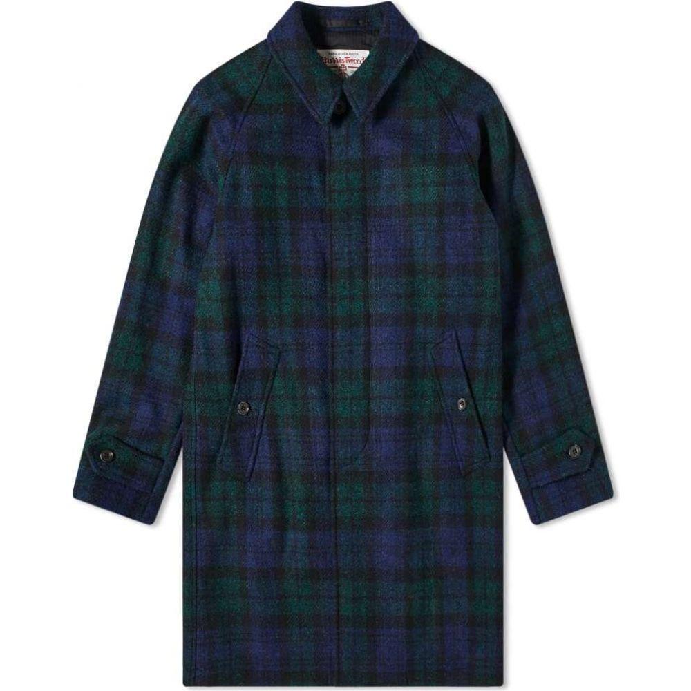 <title>新作販売 ビームス プラス メンズ アウター コート Black Watch サイズ交換無料 Beams Plus harris tweed balmacaan coat</title>