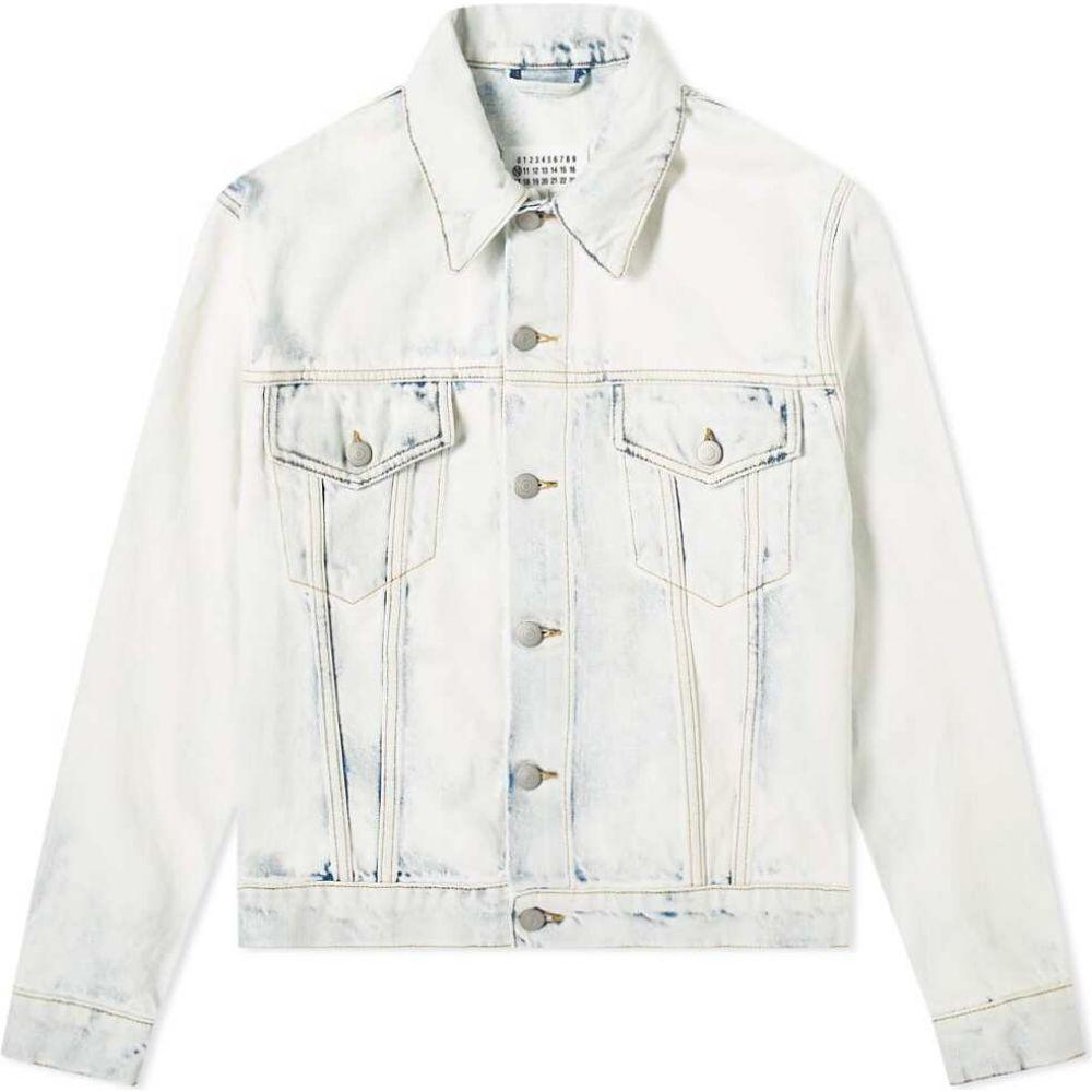 メゾン マルジェラ メンズ アウター ジャケット 特価 Vintage Bleach サイズ交換無料 Maison jacket bleach Margiela 14 80s スーパーSALE セール期間限定 vintage denim Gジャン
