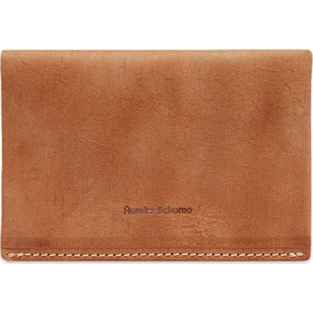 エンダースキーマ Hender Scheme メンズ カードケース・名刺入れ 【compact card case】Natural