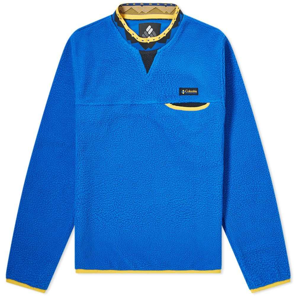 コロンビア Columbia メンズ フリース トップス【wapitoo fleece pullover】Azul/Stinger/Black