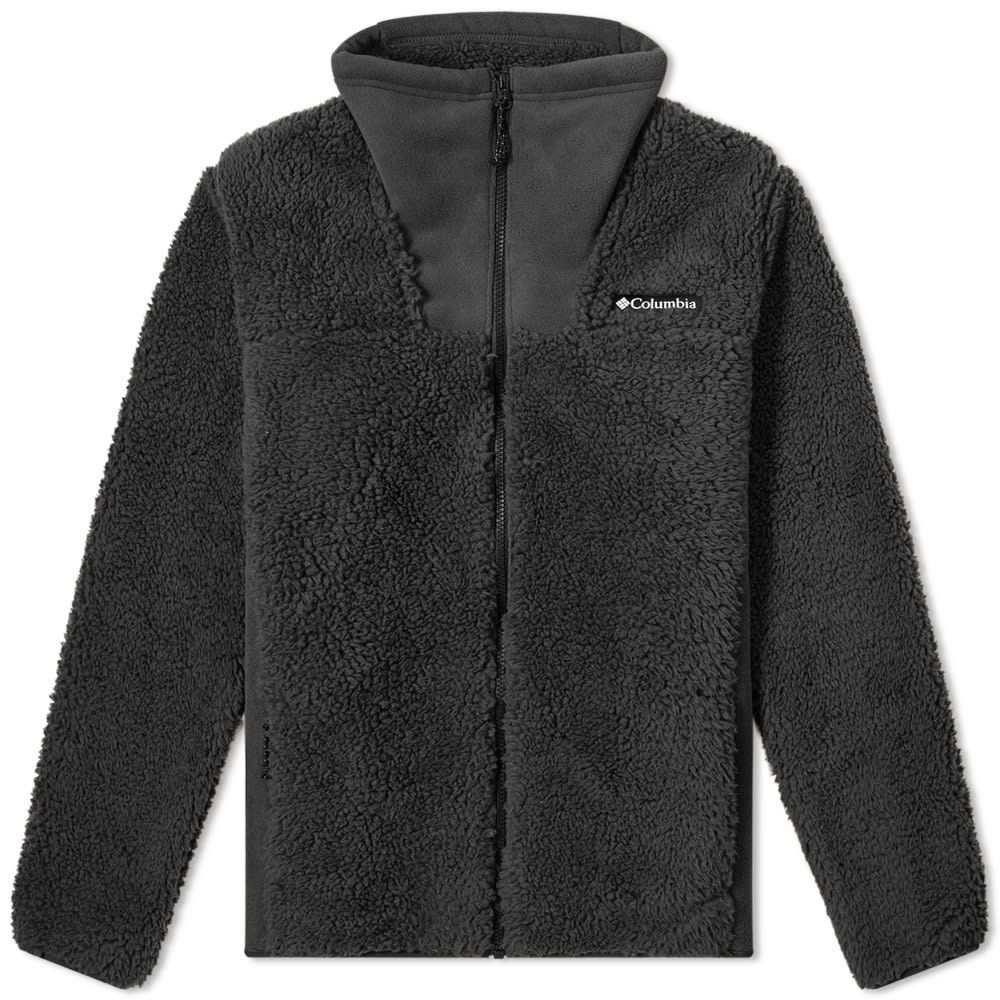 コロンビア Columbia メンズ フリース トップス【winter pass full zip fleece】Black