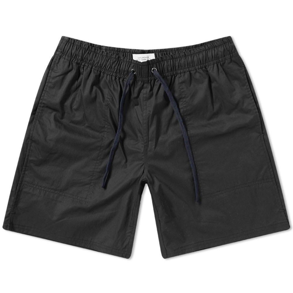 サタデーニューヨーク Saturdays NYC メンズ ショートパンツ ボトムス・パンツ【ritchie short】Black