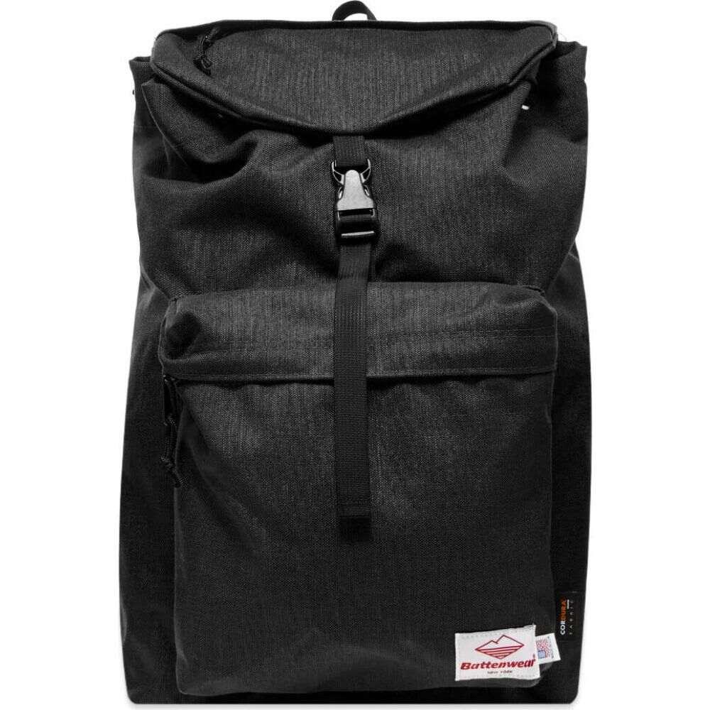 日本最大のブランド バテンウェア Battenwear メンズ バックパック・リュック バッグ【day hiker backpack】Black, 白山町 d6d785f3