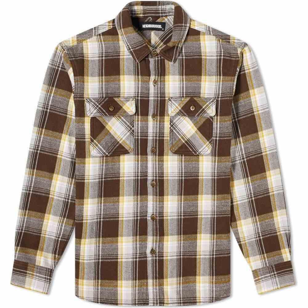 価格は安く ネイバーフッド Neighborhood メンズ シャツ トップス【cabella shirt】Brown, パソコンショップドーム 9cbc50c6