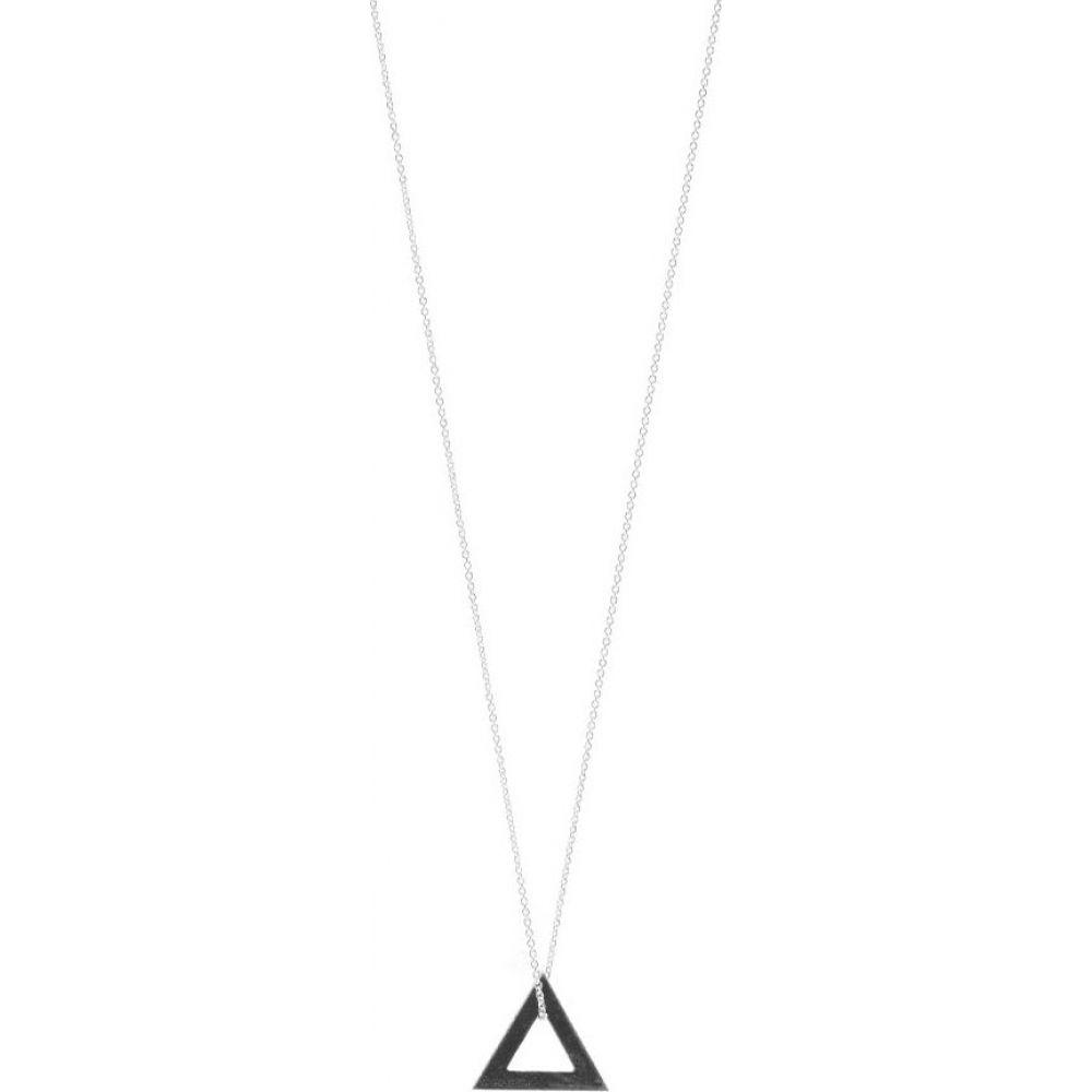 ルグラム メンズ ジュエリー アクセサリー ネックレス Sterling サイズ交換無料 Le Gramme Necklace Triangle Oxidized ついに入荷 激安超特価 Pendant