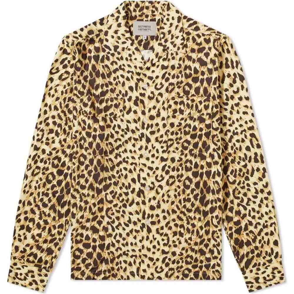 逆輸入 カーハート Carhartt WIP メンズ シャツ トップス【x Maria Wacko Maria Wacko メンズ Aloha Shirt】Leopard Print, 化粧品香水雑貨コスメパルフェ:30cb7ea8 --- rishitms.com