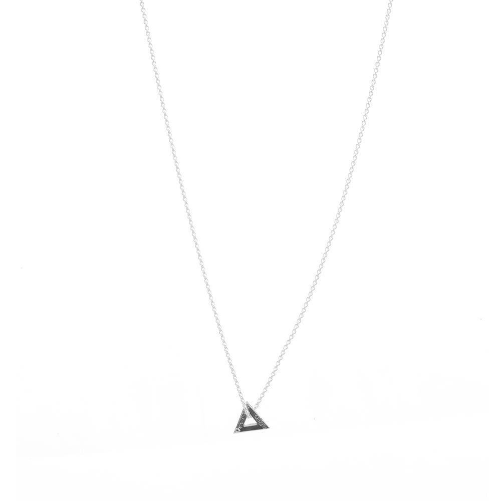 ルグラム Le Gramme メンズ ネックレス ジュエリー·アクセサリー【Slick Triangle Necklace】Silver