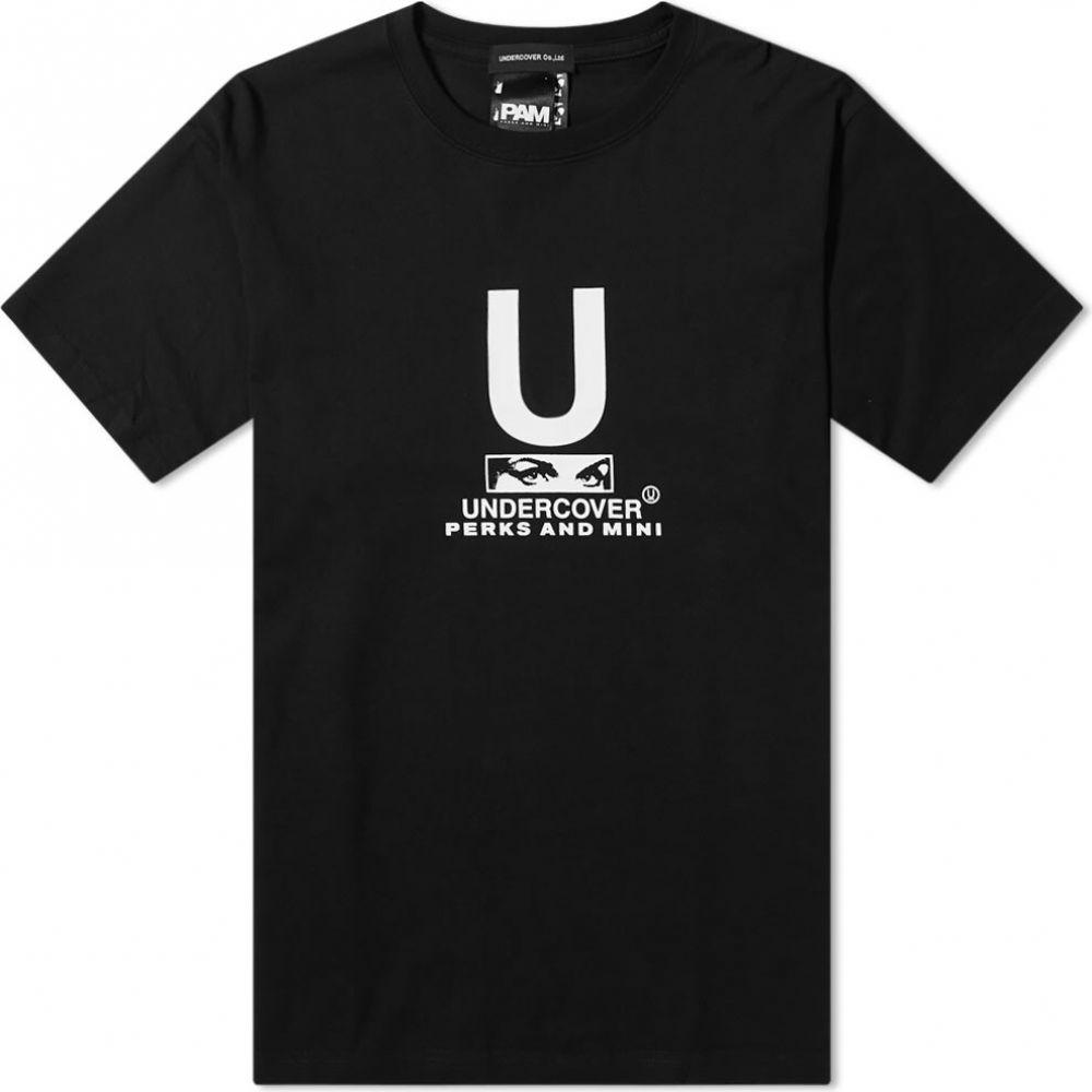 安価 アンダーカバー Undercover Logo メンズ Back Tシャツ ロゴTシャツ トップス【x メンズ P.A.M. Logo Back Print Tee】Black, 釧路町:611a8bc6 --- kanvasma.com