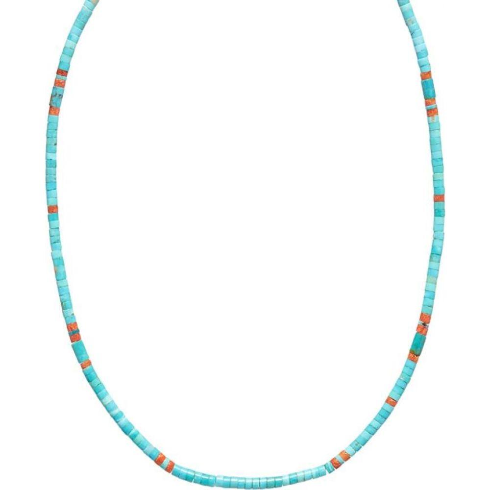 買取り実績  ミキア Mikia メンズ ネックレス ジュエリー・アクセサリー【Tube メンズ Stone Necklace ネックレス Necklace】Turquoise】Turquoise, 結納屋 長生堂:a86afee0 --- inglin-transporte.ch