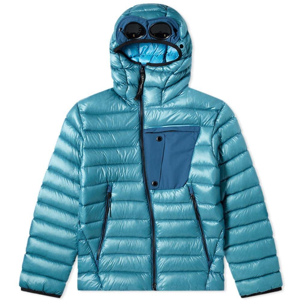 シーピーカンパニー C.P. Company メンズ アウター ジャケット【Hooded Goggle Jacket】Bluejay