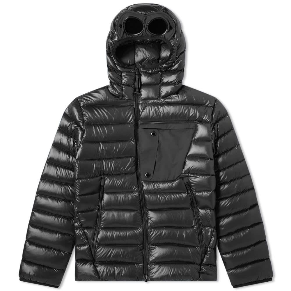 シーピーカンパニー C.P. Company メンズ アウター ダウン・中綿ジャケット【Down Hooded Goggle Jacket】Black