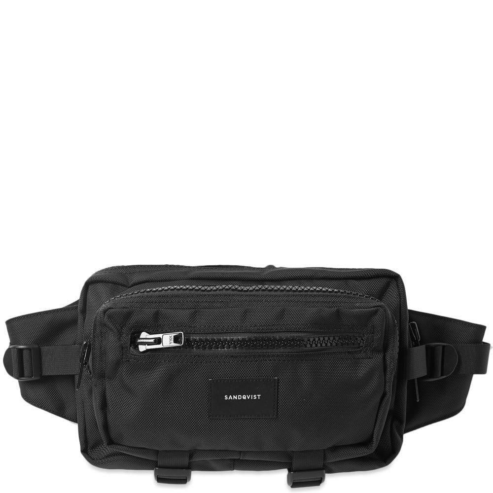 サンドクヴィスト Sandqvist メンズ ボディバッグ・ウエストポーチ バッグ【felix ballistic waist bag】Black