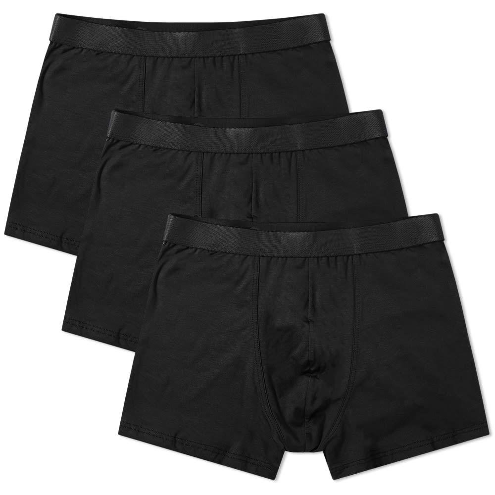 シーディーエルピー CDLP メンズ インナー・下着 ボクサーパンツ【Boxer Brief - 3 Pack】Black