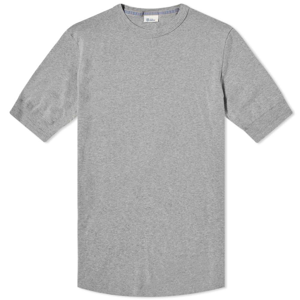 シーサー Schiesser メンズ Tシャツ トップス【karl-heinz crew tee】Grey Melange
