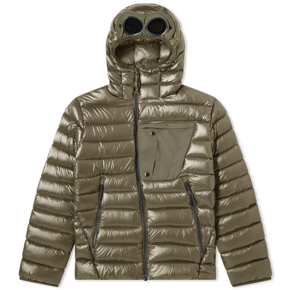 シーピーカンパニー C.P. Company メンズ アウター ジャケット【Hooded Goggle Jacket】Dusty Olive