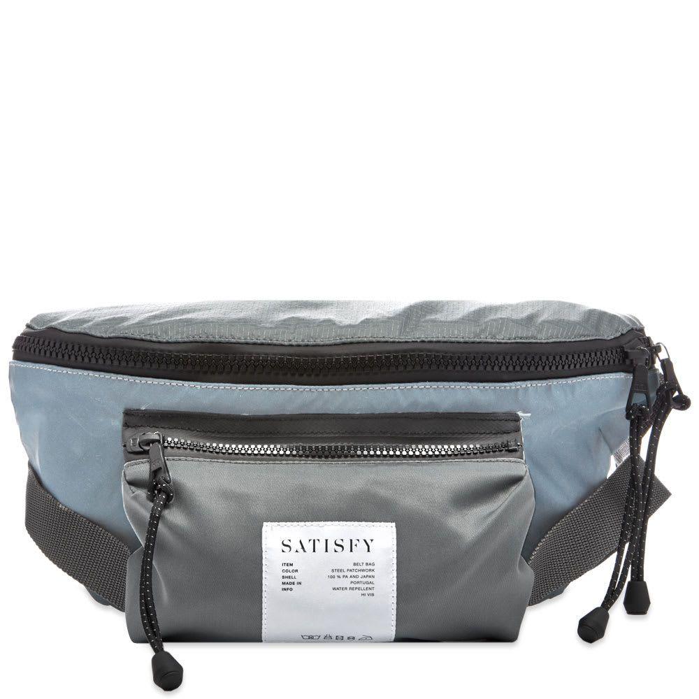 サティスフィ Satisfy メンズ バッグ ボディバッグ・ウエストポーチ【Belt Bag】Steel Patchwork